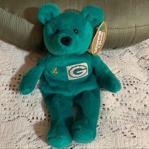 NWT NFL Brett Favre #4 Bennie Bear
